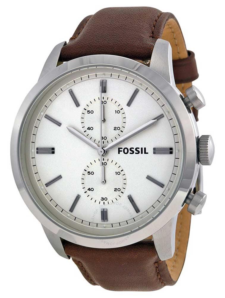 tout neuf 7e1de 19a28 MONTRE Fossil Townsman FS4865